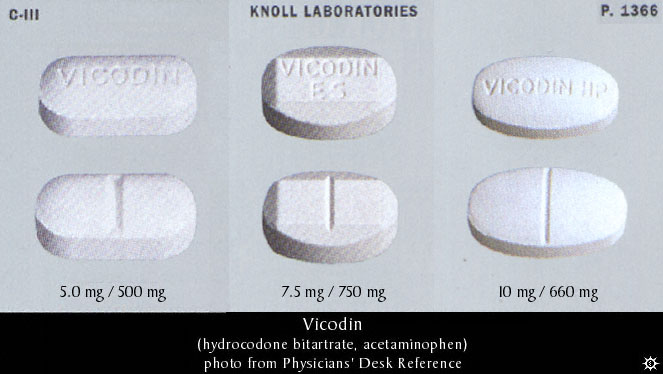 aetna rehab coverage for Vicodin